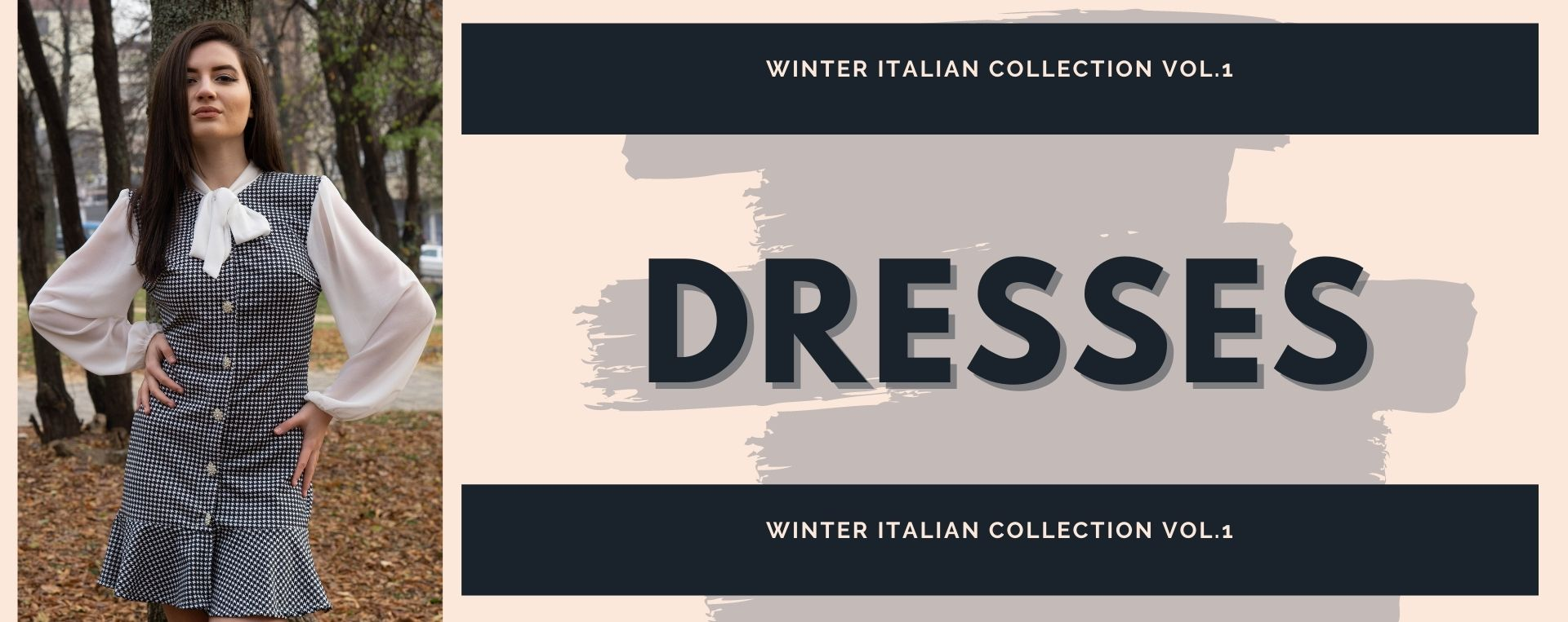 Dresses from the winter italian collection