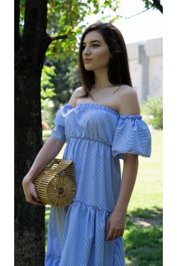 "Дълга рокля с принт ""Positano"""