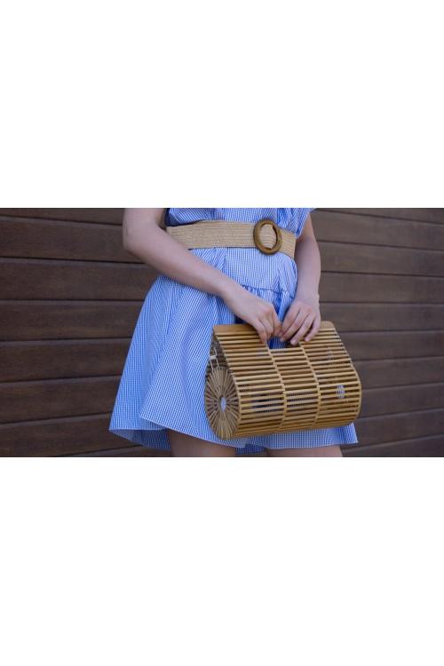 """Чанта от бамбук """"Vacanza"""""""