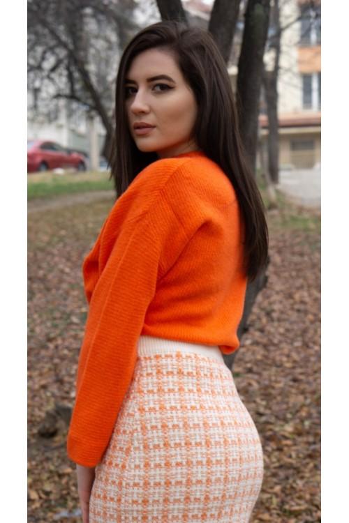 """Пуловер """"Arancione"""""""
