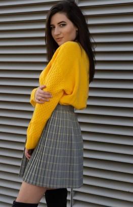 """Плетен пуловер """"Giallo"""""""