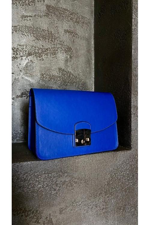 "Чанта ""Royal blue"""