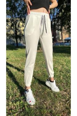 Бял спортен панталон