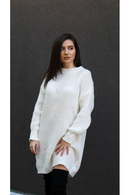 """Плетена рокля тип пуловер """"Bianca"""""""