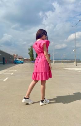 """Къса разкроена рокля """"Milano"""""""